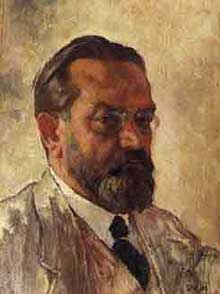 Emil Orlik - Self Portrait